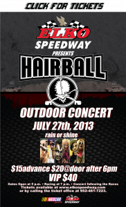Hairball-Poster-July27th2013TICKETS