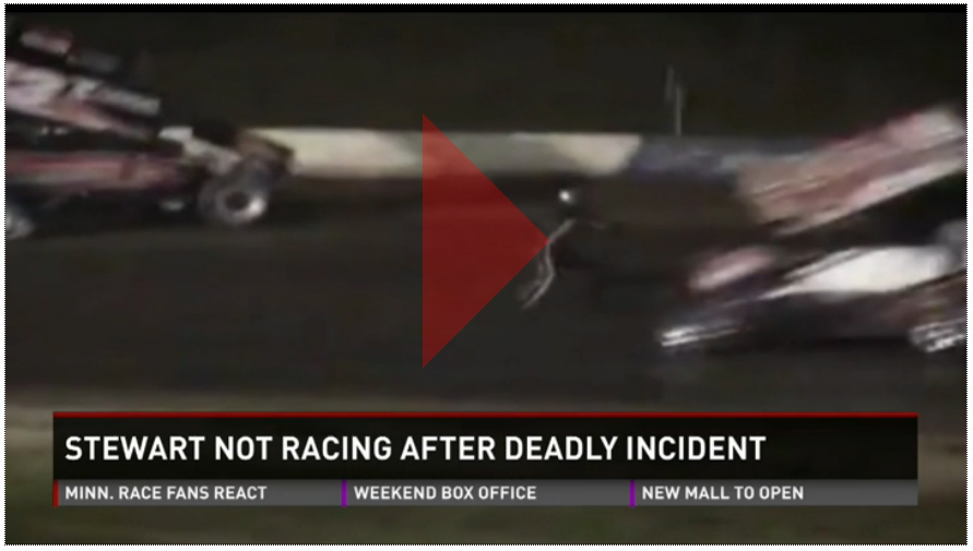 Kare11-video-Tony-Stewart-NASCAR-Racing-MInnesota-Midwest-crash-incident-accident-local-race-fans-Elko-Speedway